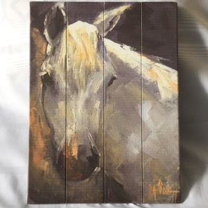 Other - Wooded Pallet Artwork | Attn Horse lovers 💛🐴